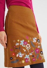 Boden - A-line skirt - pumpkin orange - 3