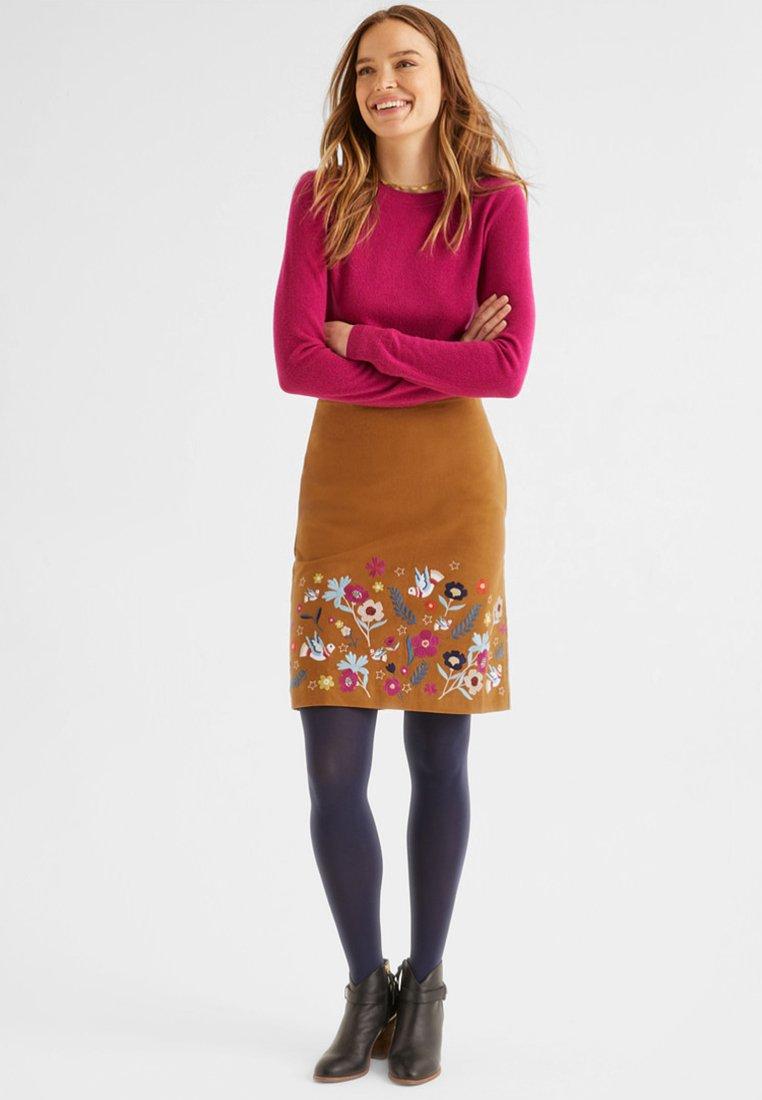 Boden - A-line skirt - pumpkin orange