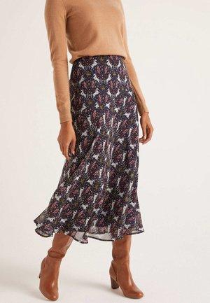 TABITHA  - A-line skirt - navy