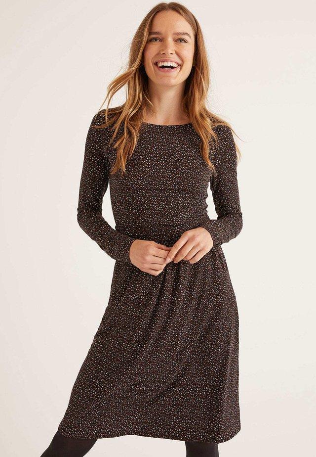 ABIGAIL - Jersey dress - black