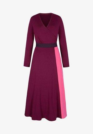 Maxi dress - mottled purple