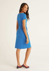Boden - Jersey dress - mottled light blue