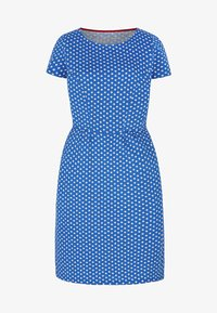 Boden - Jersey dress - mottled light blue - 4