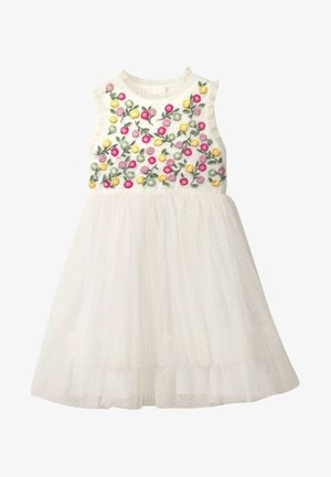 MIT STICKEREI - Day dress - natural white