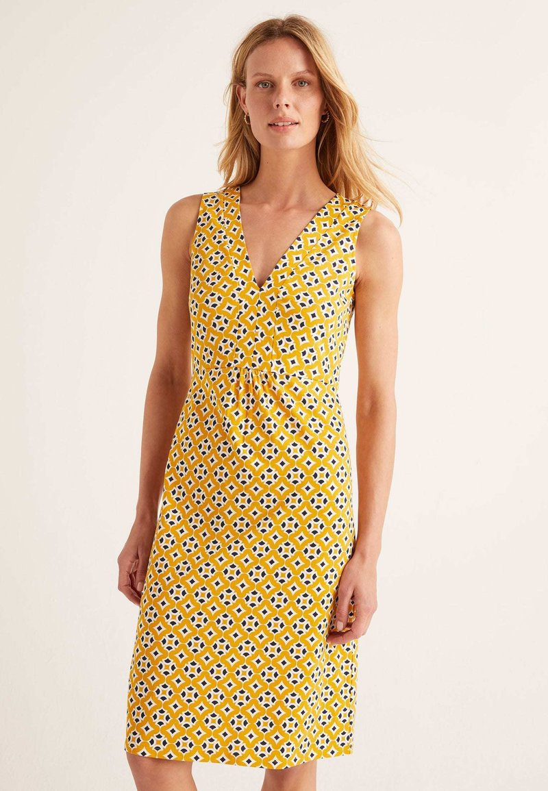 Boden - EDEN - Jersey dress - dark yellow