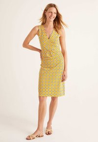 Boden - EDEN - Jersey dress - dark yellow - 1