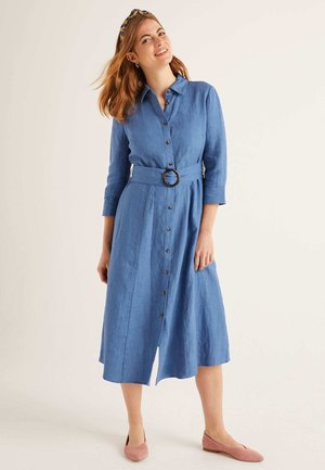 OLIVIA  - Shirt dress - blue