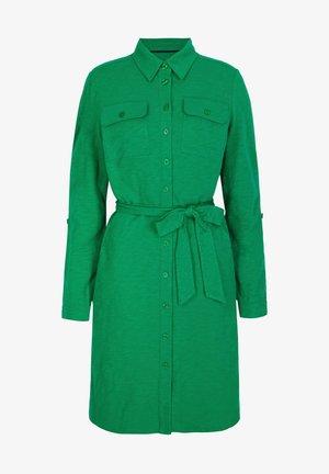 Shirt dress - emerald green