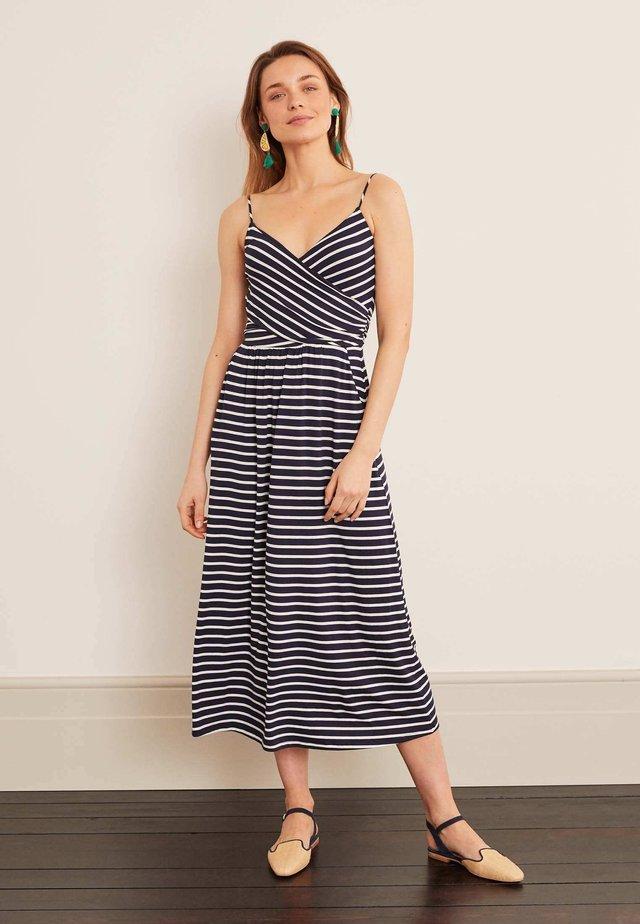 HOPE - Jersey dress - mottled blue