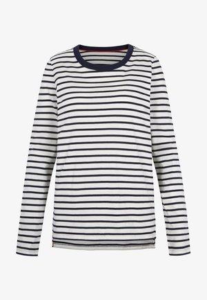 BRETONSHIRT - Long sleeved top - natural/navy
