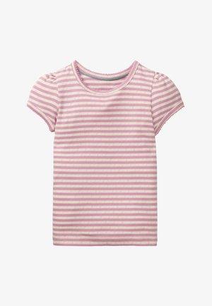 Basic T-shirt - lilac pink/ivory