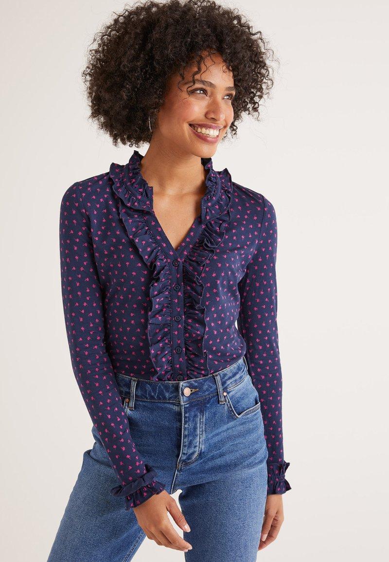 Boden - Button-down blouse - navy