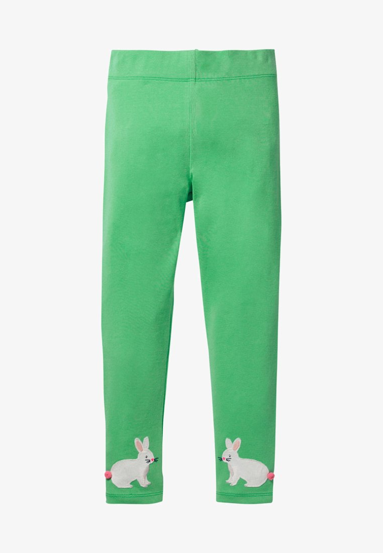 Boden - MIT APPLIKATION - Leggings - Trousers - asparagus green