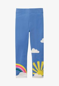 Boden - MIT APPLIKATION - Leggings - Trousers - sky blue - 0