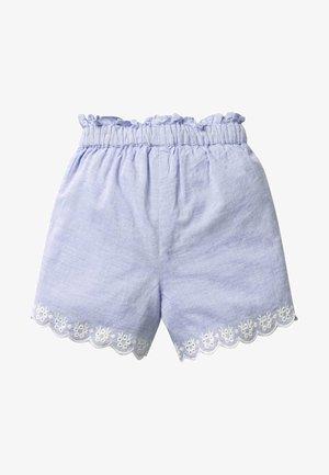 Shorts - raw denim