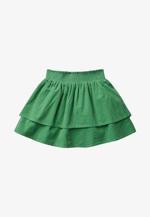 A-line skirt - graze green