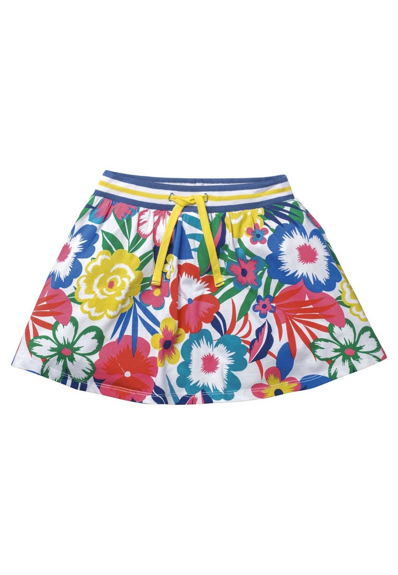 Boden - A-line skirt - bunt, tropenblüten