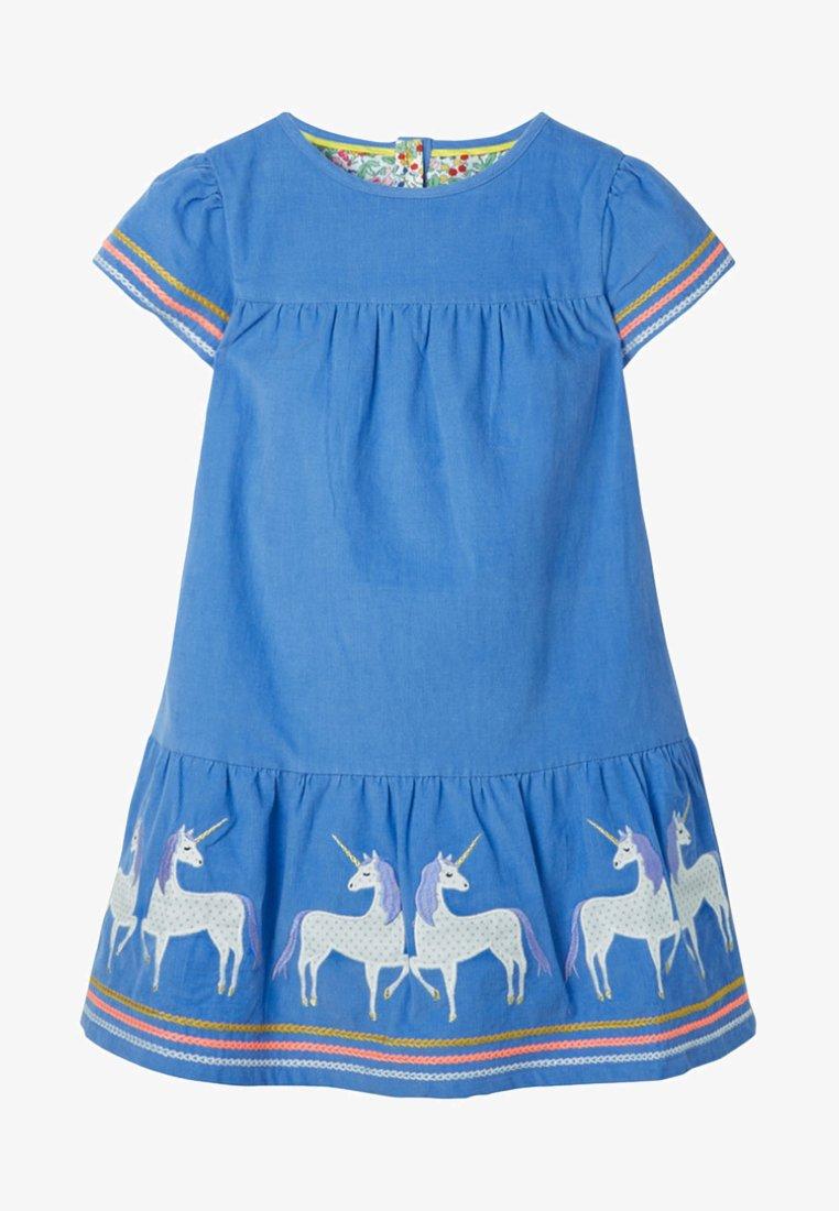 Boden - MIT EINHORNMUSTER - Day dress - blue