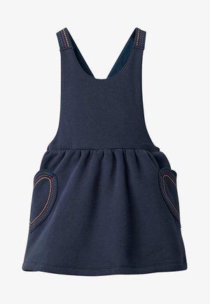 MIT HERZTASCHE - Day dress - blue