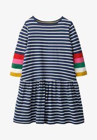 Boden - Jersey dress - natural white/navy - 0