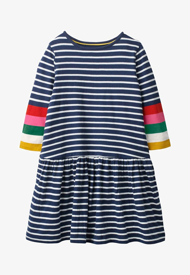 Boden - Jersey dress - natural white/navy
