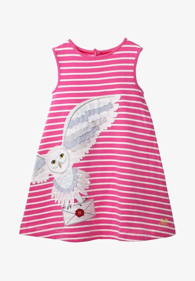 HARRY POTTER - Day dress - knallrosa/naturweiß
