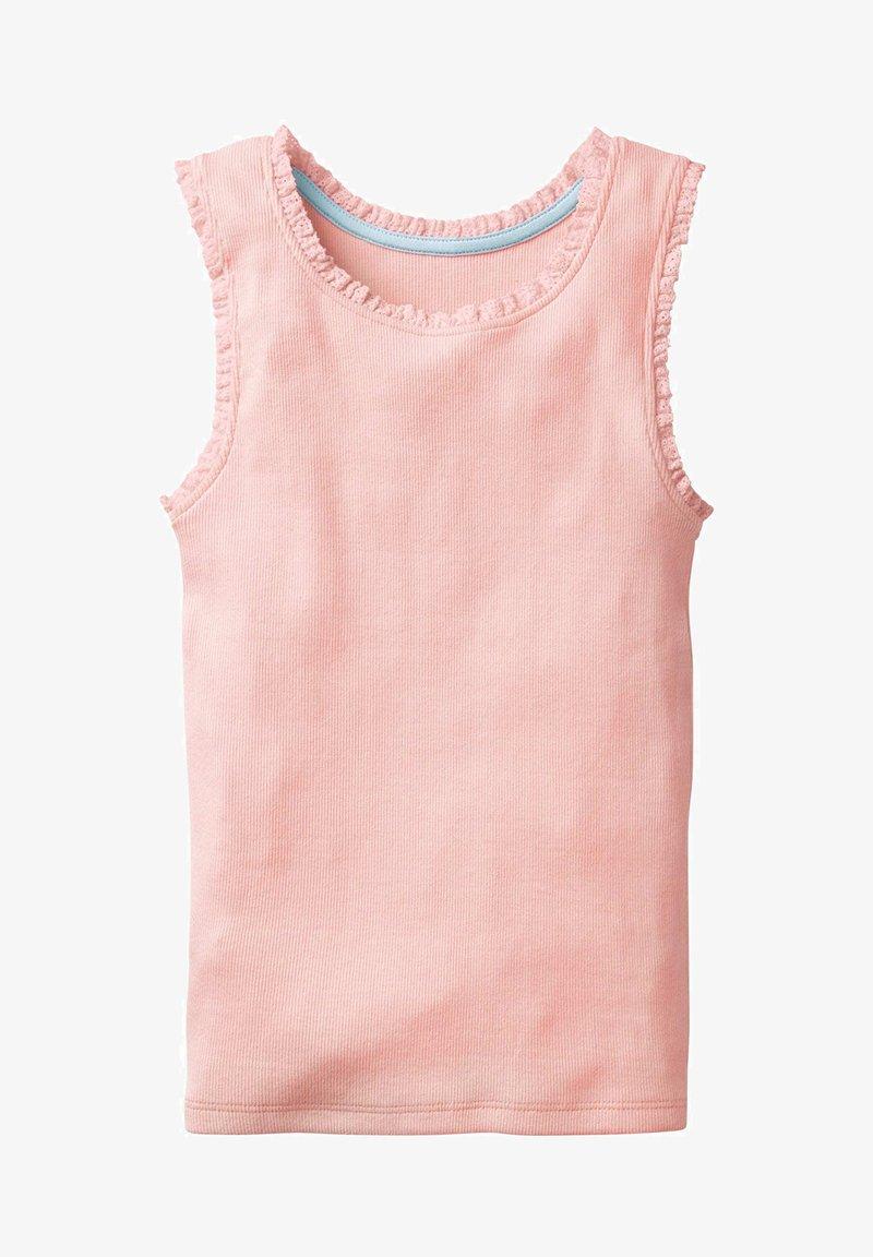 Boden - MIT SPITZENBORTE - Top - dolphin pink