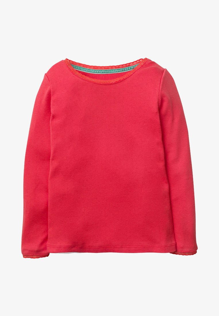 Boden - SUPERWEICHES POINTELLE - Long sleeved top - carmine