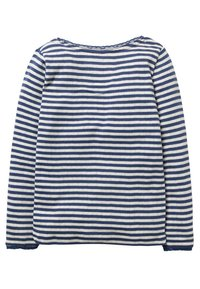 Boden - SUPERWEICHES POINTELLE - Long sleeved top - mottled blue/ecru - 1
