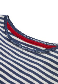 Boden - SUPERWEICHES POINTELLE - Long sleeved top - mottled blue/ecru - 2