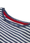 Boden - SUPERWEICHES POINTELLE - Long sleeved top - mottled blue/ecru