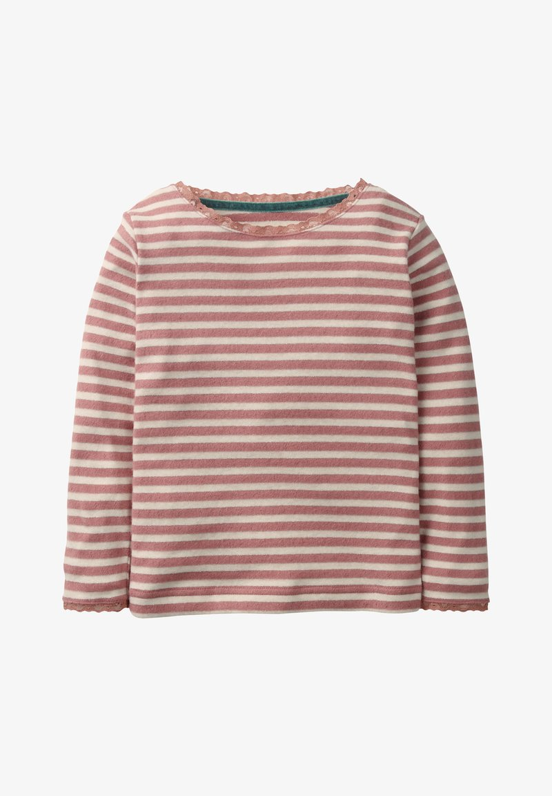 Boden - Long sleeved top - old rose/silver