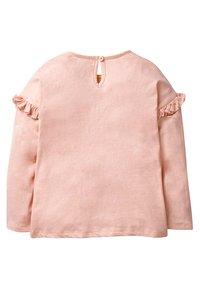 Boden - MIT FEEN APPLIKATION - Long sleeved top - mottled light pink - 1