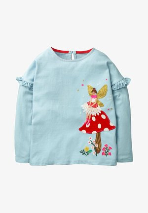 MIT FEEN APPLIKATION - Long sleeved top - cloudy blue