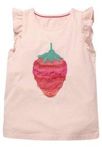 Boden - MIT FLATTERTÜLLAPPLIKATION - Top - provence-altrosa, erdbeere - 0