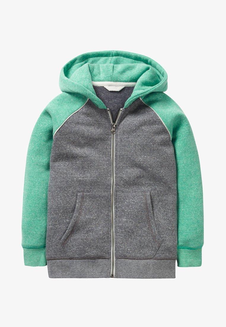 Boden - Sweatjacke - dark gray mottled/astro green