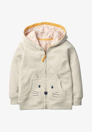 MIT KATZE - Zip-up hoodie - Bright beige