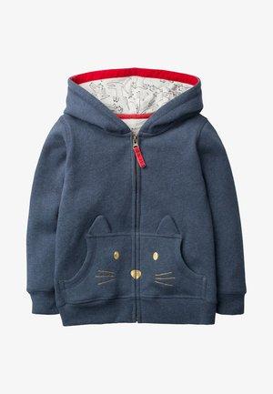 MIT KATZE - Zip-up hoodie - dark blue mottled