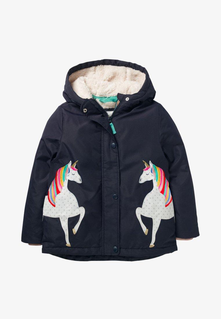 Boden - MIT SHERPA-FUTTER - Winter jacket - navy/unicorns