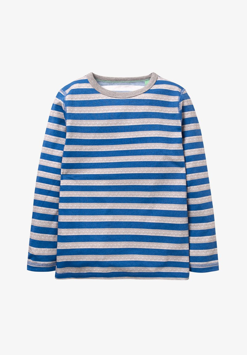 Boden - Langarmshirt - royal blue/light gray