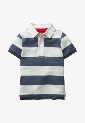 Polo shirt - robot blue/white