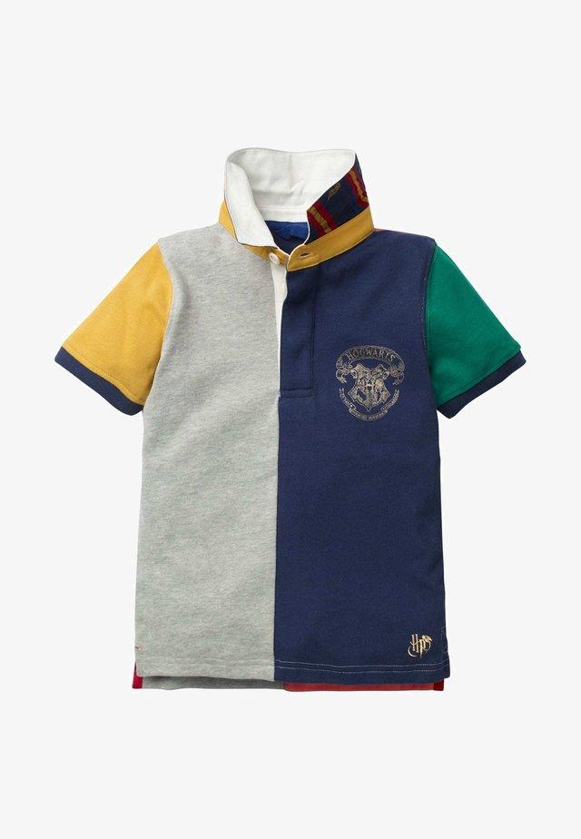 HARRY POTTER - Polo shirt - mittelgrau meliert, mustermix