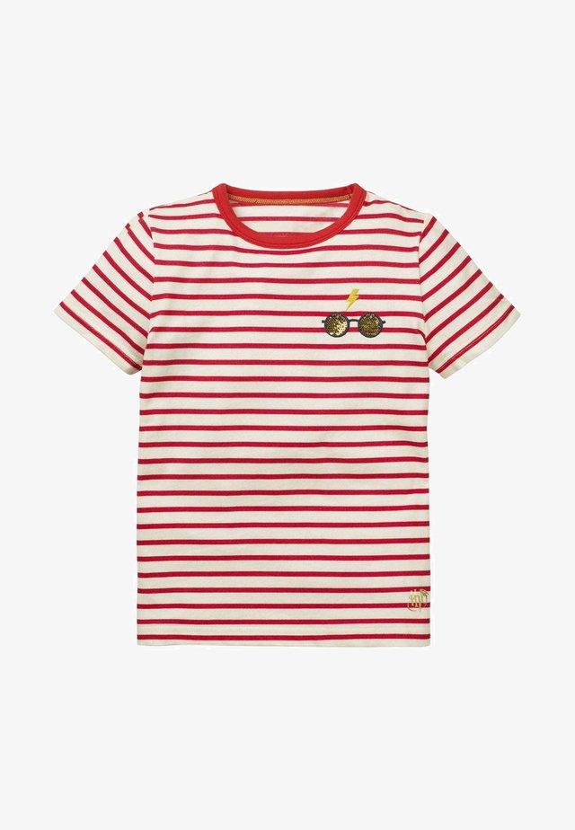 HARRY POTTER - Print T-shirt - rockabilly-rot/naturweiß, brillen