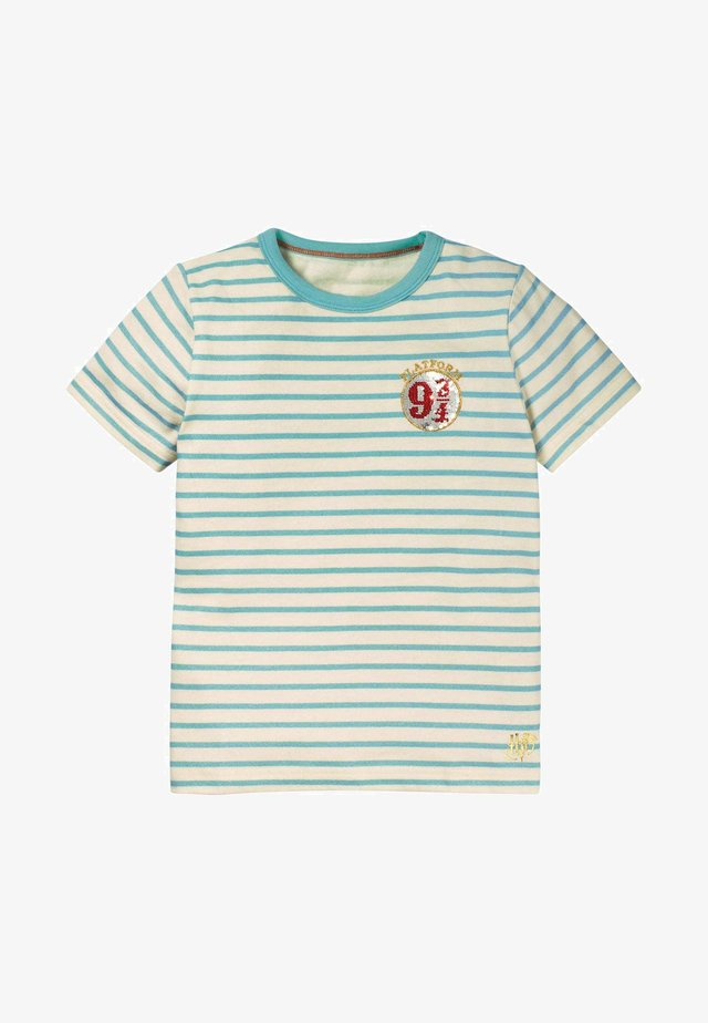 HARRY POTTER - Print T-shirt - mineralgrün/naturweiß, 9¾