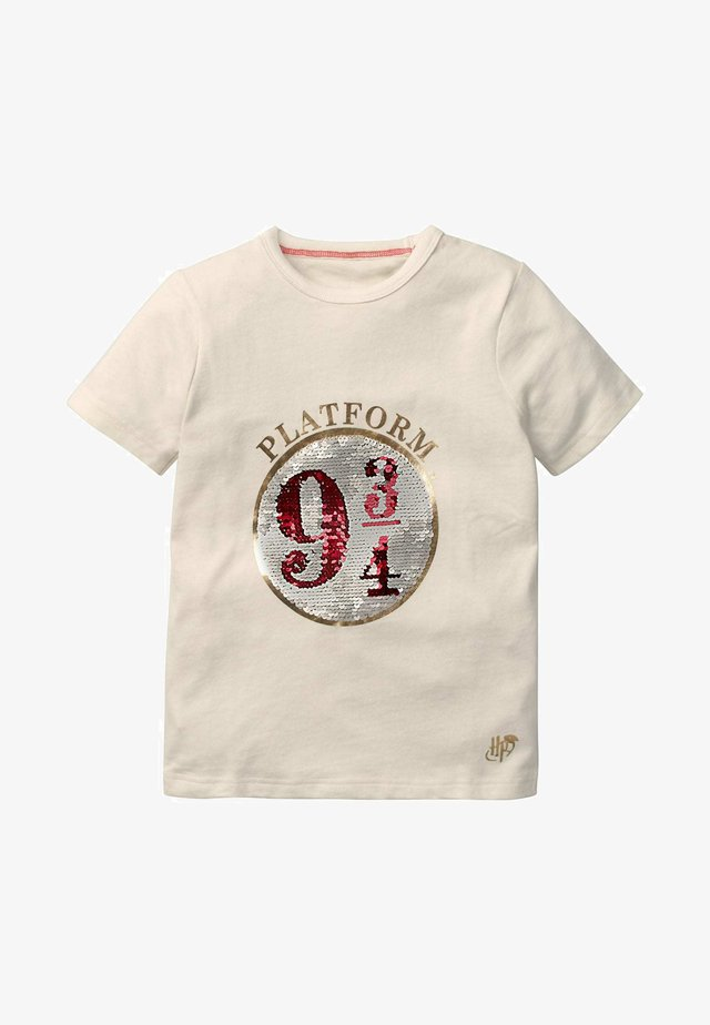 HARRY POTTER - Print T-shirt - naturweiß