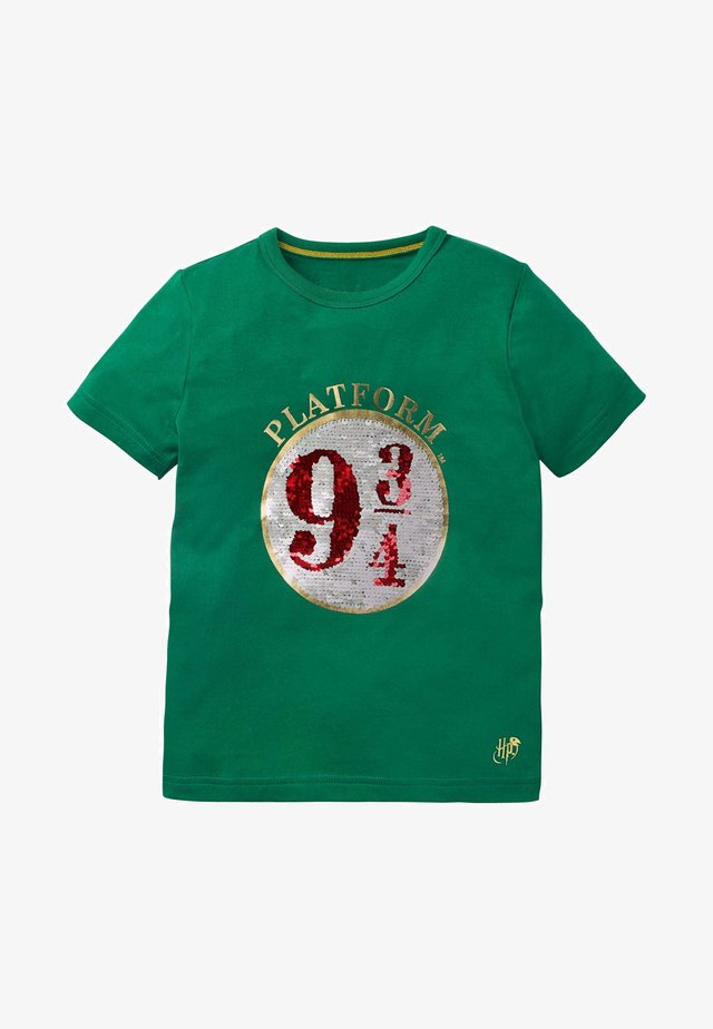 HARRY POTTER - Print T-shirt - bergwiesengrün