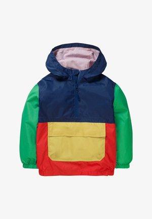 Waterproof jacket - navy/orangerot