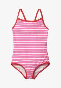 Boden - MIT ORIGINELLER HINTERSEITE - Swimsuit - sweet pink/natural white - 0