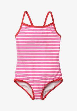 MIT ORIGINELLER HINTERSEITE - Swimsuit - sweet pink/natural white