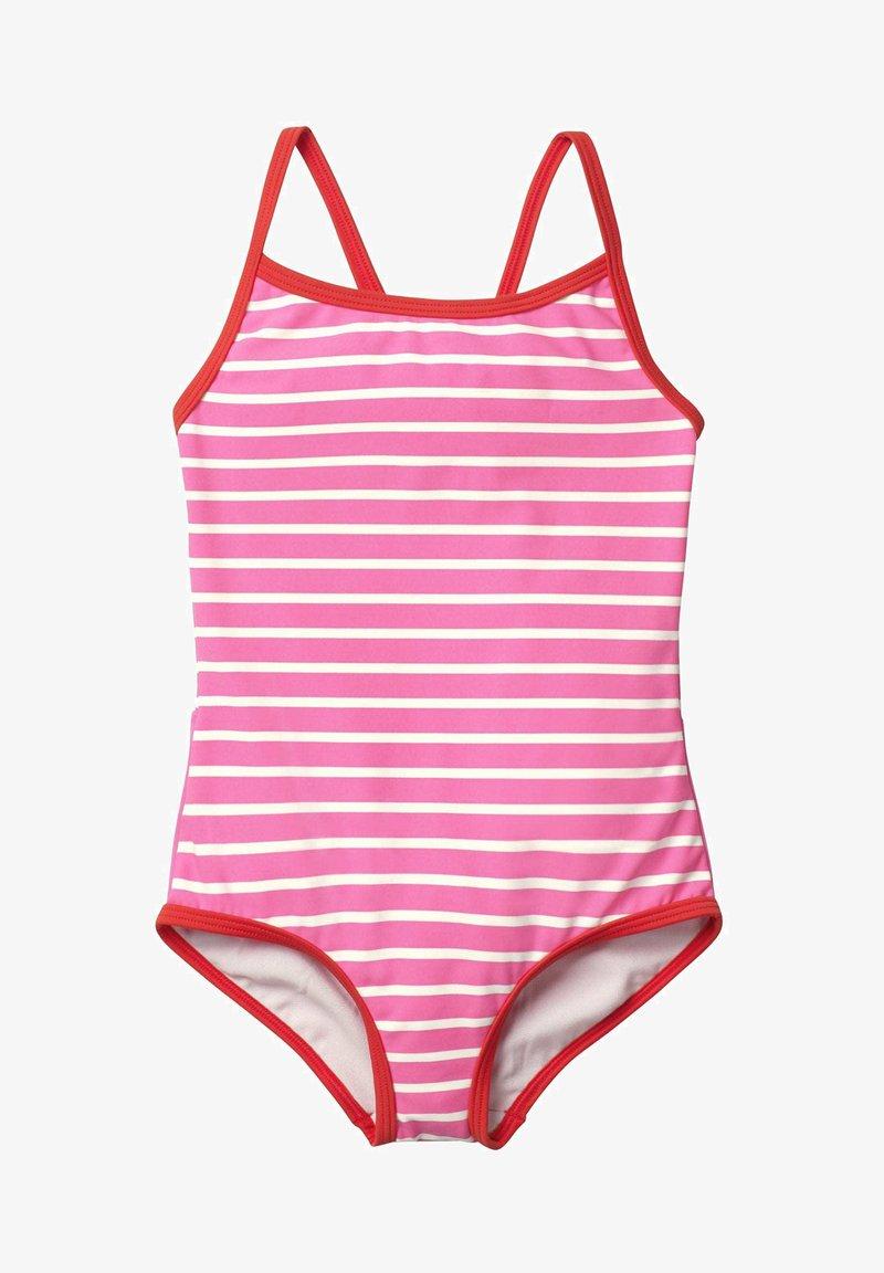 Boden - MIT ORIGINELLER HINTERSEITE - Swimsuit - sweet pink/natural white
